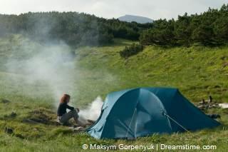 vrij kamperen