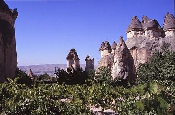 Cappadocië in de buurt van Goreme
