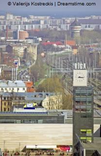 Station in Riga