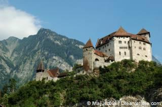 Kasteel in Liechtenstein