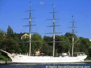 Hostel schip in Stockholm