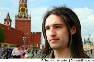 Bij het Kremlin in Moskou