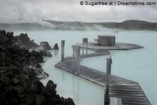 Thermen Blue Lagoon in IJsland