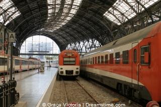 trein in Barcelona
