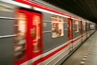 metro in Praag