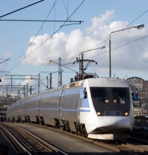 Express trein in Zweden
